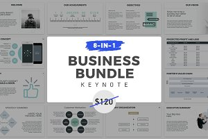 8-in-1 Keynote Presentation Bundle