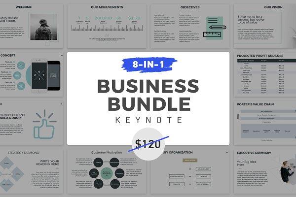 8-in-1 Keynote Presentation Bundle