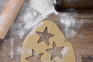 Christmas Shaped Sugar Cookies