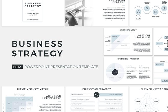 8 in 1 powerpoint bundle presentation templates creative market fbccfo Images