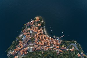 Coast of Italy. Aerial view.