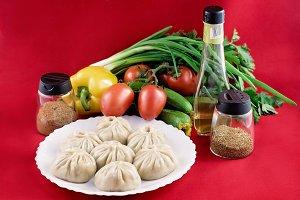 National Buryat (Mongolian) food