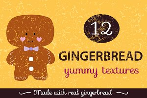 Gingerbread Textures Pack