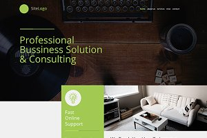 Sierra Responsive One Page Template