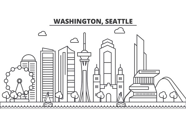 Washington, Seattle architecture li…