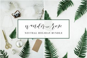 Neutral Christmas Stock Bundle