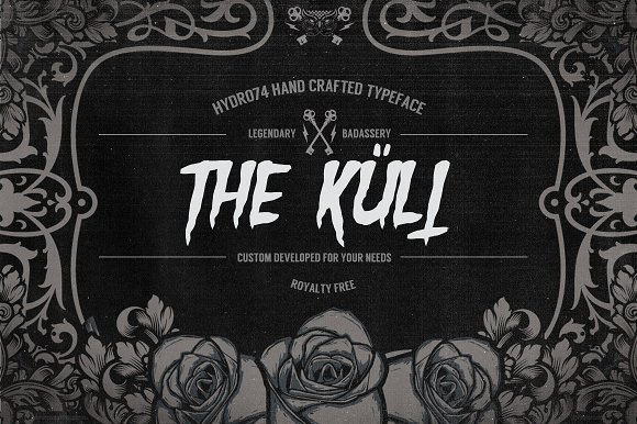 The Kult in Fonts