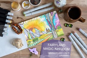 Fairyland. Magic kingdom