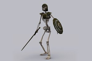 SKELETON KNIGHT fbx only