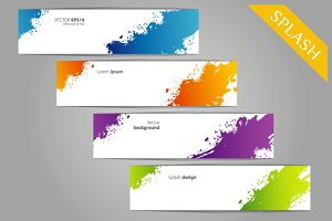 Color splash designs