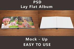 Lay Flat - Album - Mock up