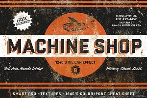 Machine Shop by RetroSupply