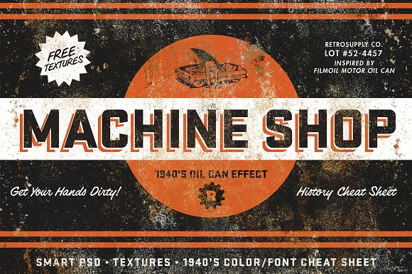 Machine Shop by RetroSupply