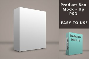Product - Box - PSD Mock up
