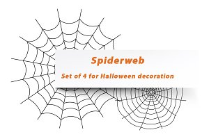 Spiderweb for Halloween decor