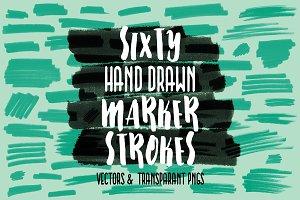 Sixty Marker Strokes