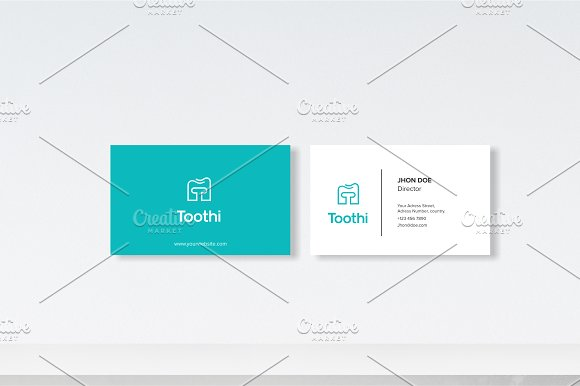 Tooth Box Logo template in Logo Templates - product preview 1