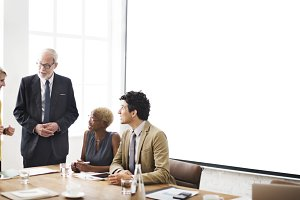 Business meeting group(PNG)
