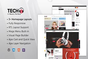 TECH8 - HiTech WooCommerce Theme