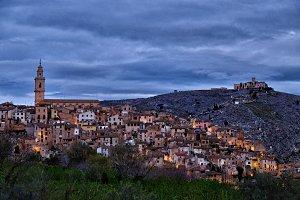 Bocairente Village at dawn