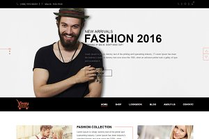 Crazy Fashion Shopify Theme