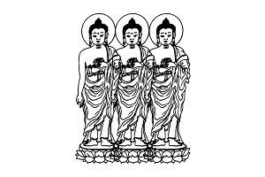 Tres Shivas by JL