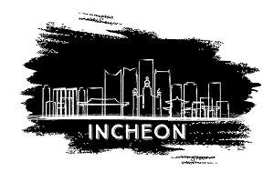 Incheon South Korea Skyline