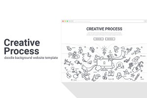 Creative Process Background Template