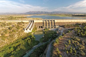 Reservoir from Bellus, Valencia