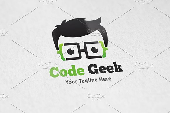Code Geek - Logo Template