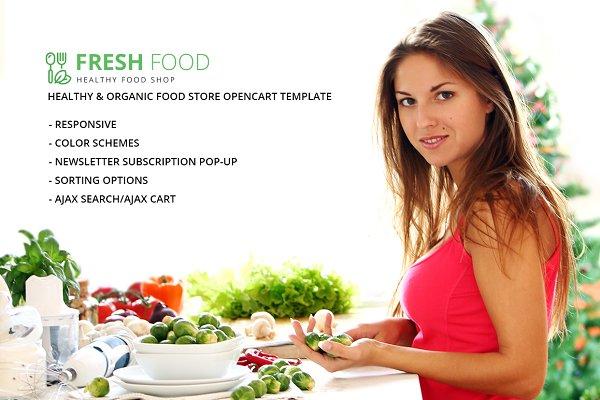 OpenCart Themes: Zemez - Healthy & Organic Food Store
