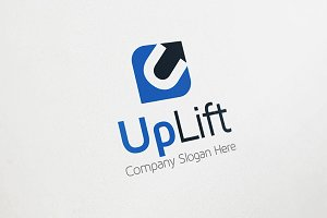 Up Arrow Logo - U Logo