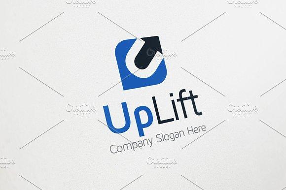 Up Arrow Logo - U Logo
