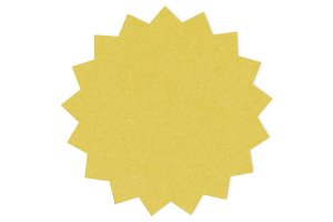 Paper craft design icon (PNG)