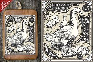 Vintage Goose Advertising