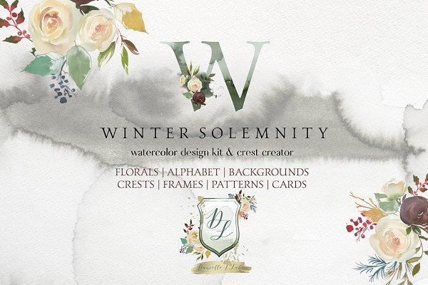 Winter Solemnity Floral Design Kit