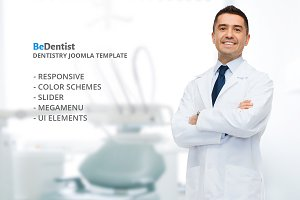 BeDentist - Medical Joomla! Template