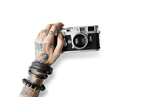 Tattoo Camera Photography(PNG)