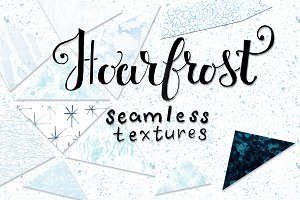 43 seamless hoarfrost textures