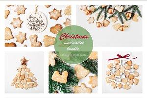 Christmas minimalist photo bundle