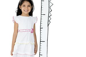 Tall Measure Height Child Scale(PNG)