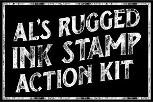 AL's Rugged Ink Stamp Action Kit
