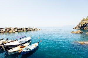 Small Harbor In Vernazza, Cinque Terre, Italy