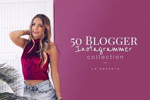 50+ Blogger Instagrammer LR Presets