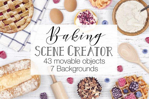 Baking Scene Creator - Top View