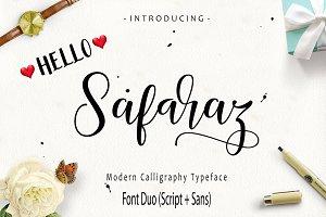 Safaraz Script (Font Duo)