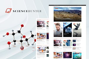 ScienceHunter - News Portal