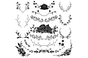 Vector Florals & Branches Shapes