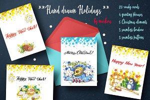 Hand drawn Holidays