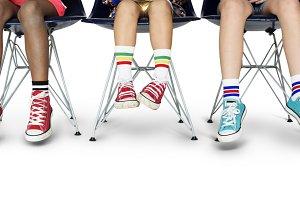 Children Legs Shoes (PNG)